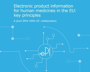 Principi chiave per l'uso delle informazioni in formato elettronico dei farmaci in Europa